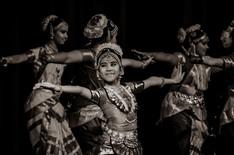 Smiling Dancer by Rajeev Nedumaran