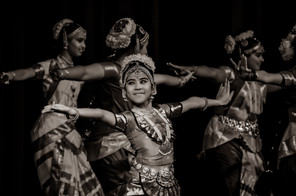 Smiling Dancer by Rajeev Nedumaran