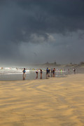 An approaching storm by Kathy Servian