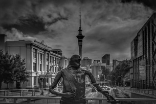 Auckland Central Cityscape by Errol D'Souza