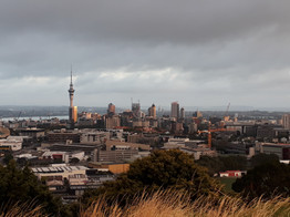 Skyline of Auckland by Selina Gasser