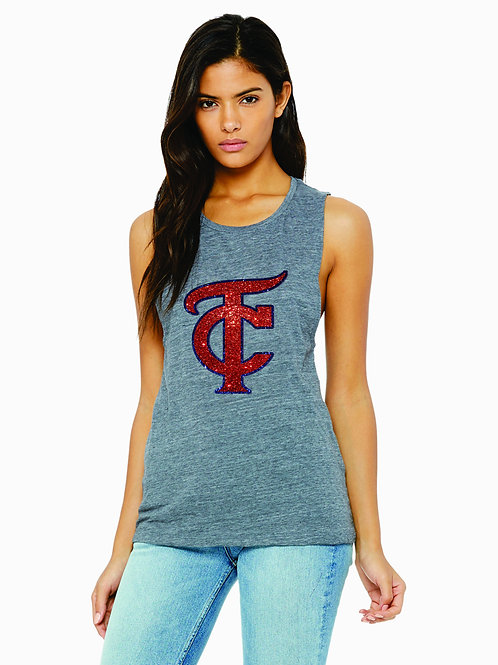 TC Glitter Tank or Tee Shirt