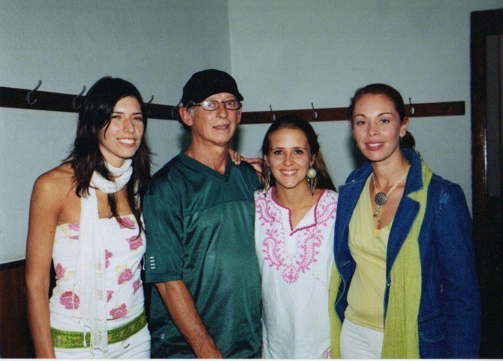 Con Hugo Fattoruso- Backstage