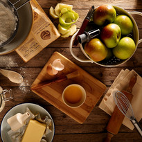 アップルパイを作ります