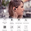Thumbnail: Fone Bluetooth 5.0 Qualcomm aptX Edifier TWS1 Preto Touch Control