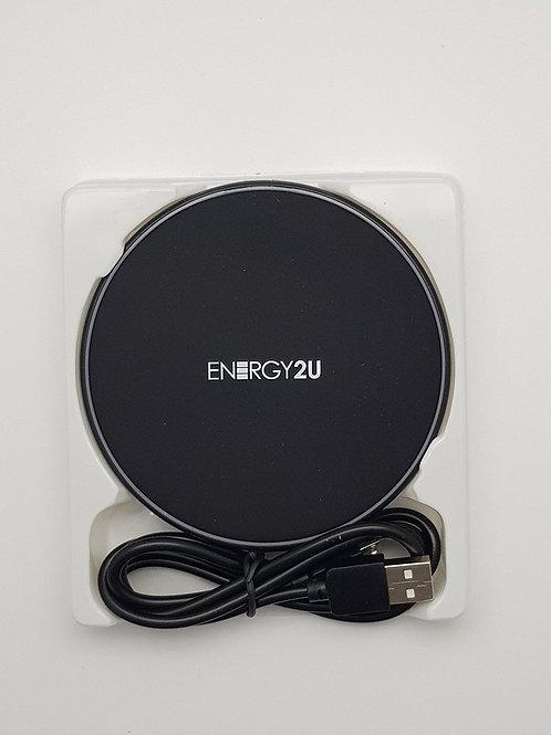 Carregador s/fio por Indução Energy2U (QI) Fast Charge 10W