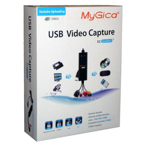 Captura de Video Usb 2.0 Mygica Ezgrabber 2 P/ Windows
