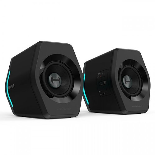 Caixas de Som Gamer 2.0 Edifier G2000 Bluetooth RGB 32W RMS Peak Power