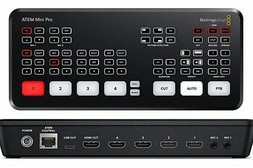 Blackmagic Atem Mini Pro HDMI Switcher