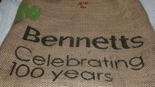 Shopping Bag made from Recycled Hessian Sacks