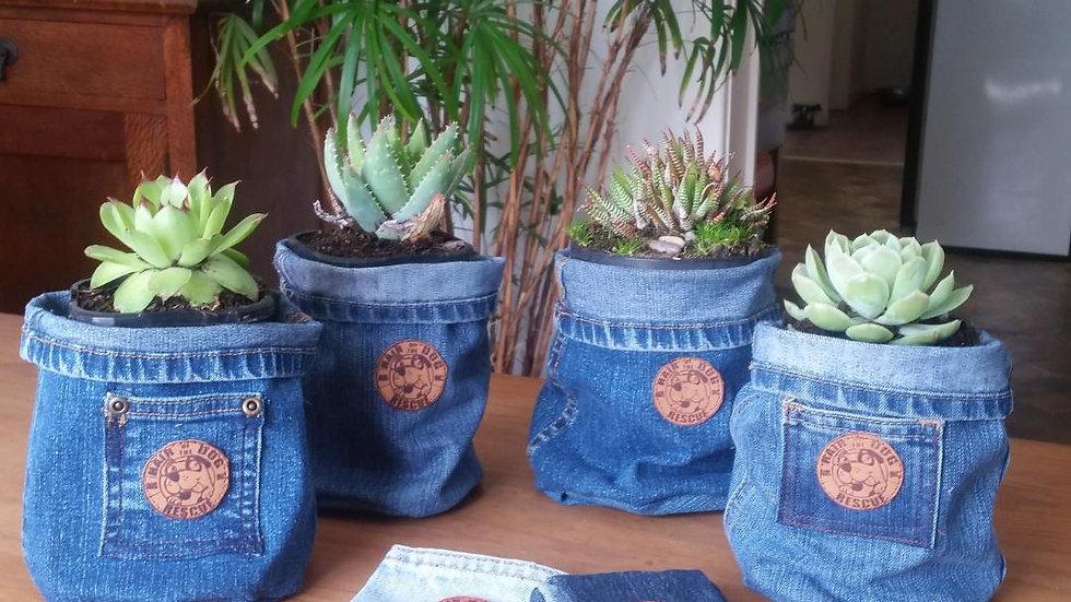 Denim Pot Holders & Bandanas