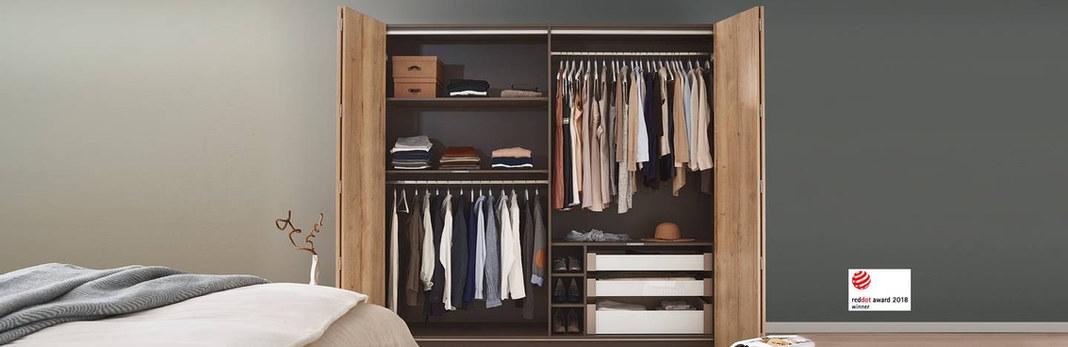 closets con puertas abatibles