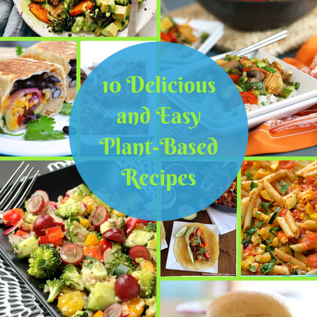 How to Make 10 Delicious and Easy Plant Based Dinners