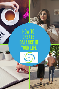 how to create balance in your life through breathing, spending time alone, moving your body and journaling