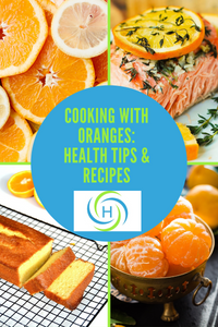 oranges are healthy and can be cooked with