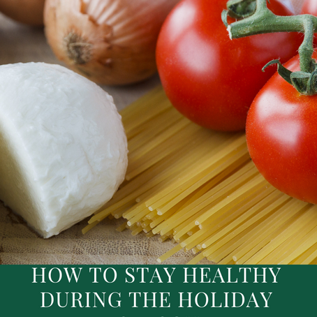 How to plan a healthy holiday season