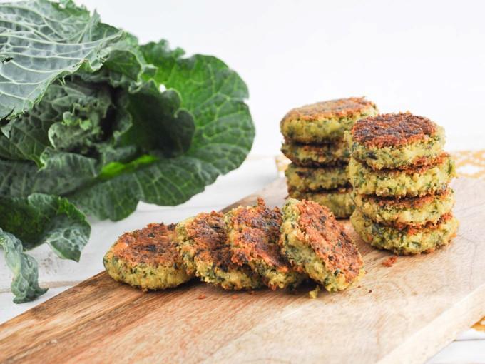 vegan and gluten free falafel for dinner