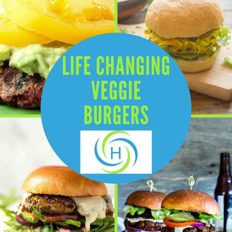 How To Make Life Changing Homemade Veggie Burgers