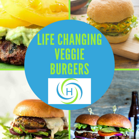 How To Make Life Changing Homemade Veggie Burgers