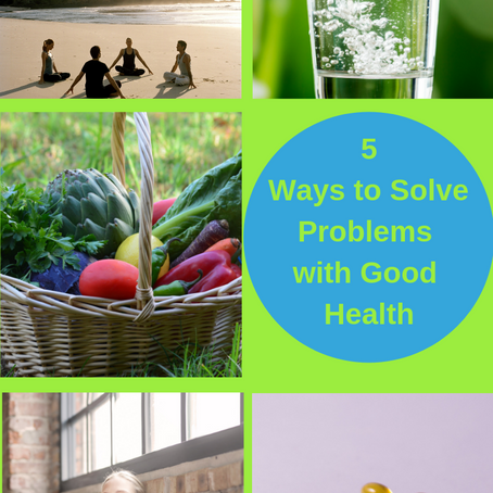 How To Solve The Biggest Problems With Good Health