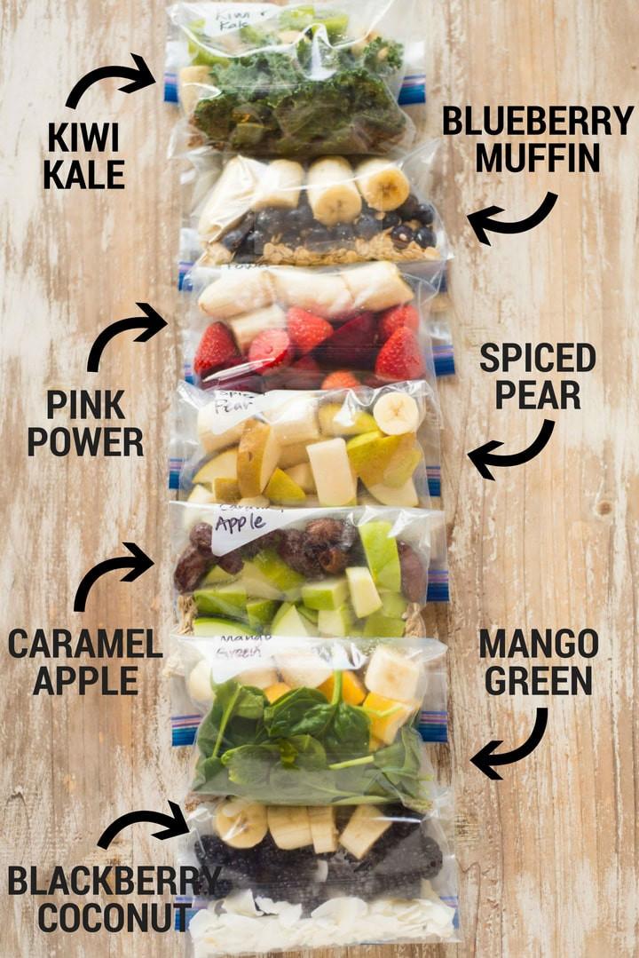 smoothie freezer pack recipes