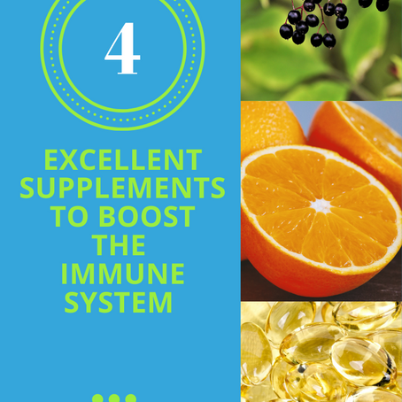 4 Excellent Supplements To Boost Your Immune System