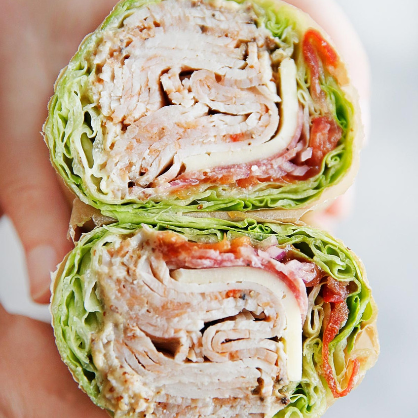 wraps for lunch