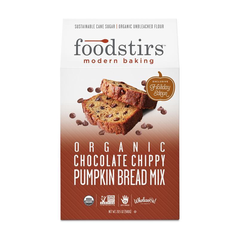 food stirs organic pumpkin bread mix