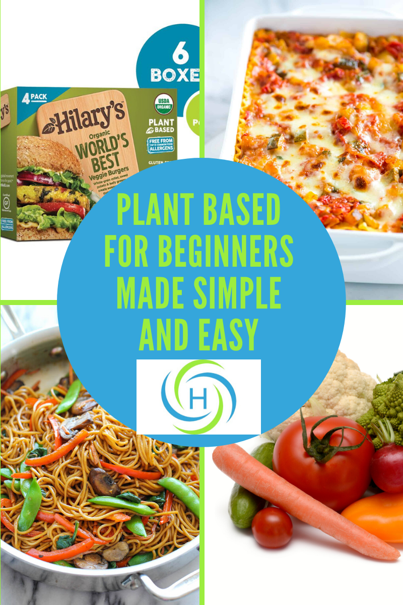plant based for beginners made simple and easy