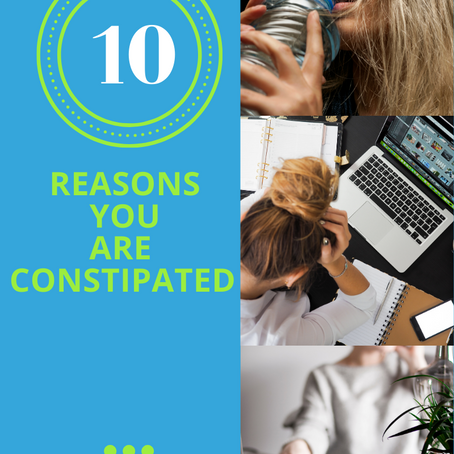Top 10 Reasons You Are Constipated