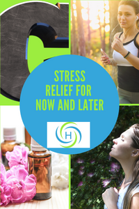 stress relief can be found by breathing, exercising, taking vitamins and using essential oils