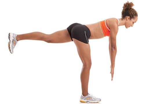 leg lift exercise
