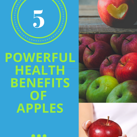 Here Are 5 Powerful Health Benefits Of Apples And Recipes