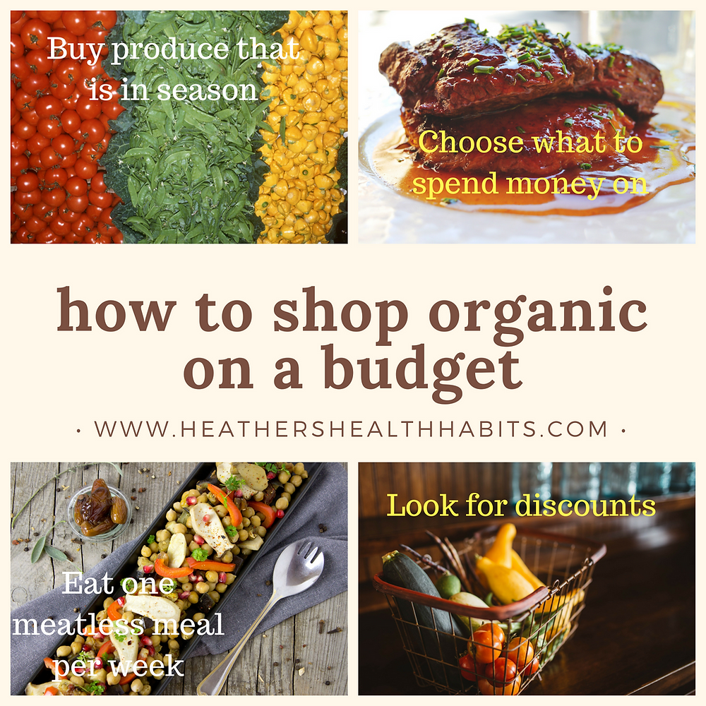 how to shop organic on a budget