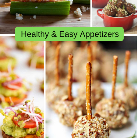 How to make healthy and easy appetizers for any holiday party