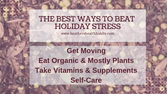 best ways to beat holiday stress
