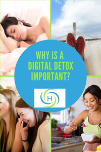 why is a digital detox important? You can sleep better, be more relaxed and eat better
