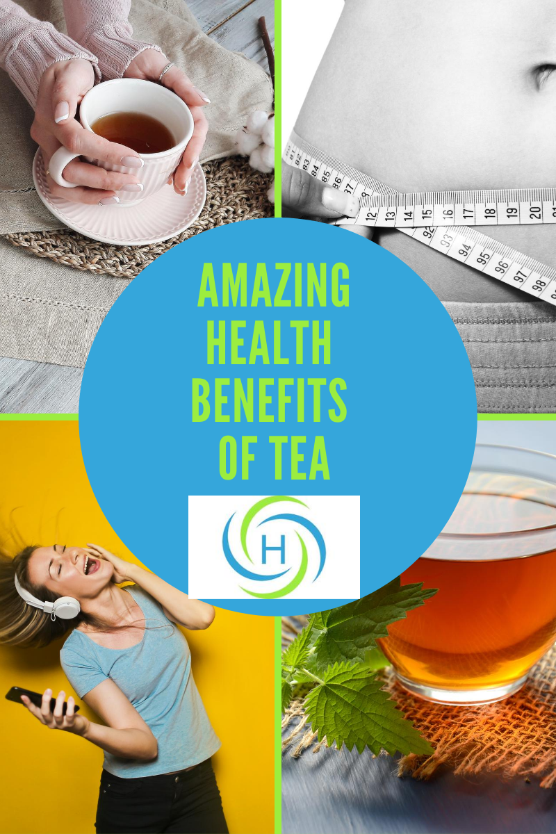 amazing health benefits of tea
