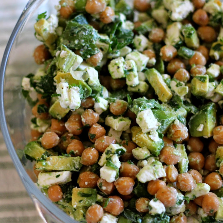 Chickpea recipes for lunch or dinner