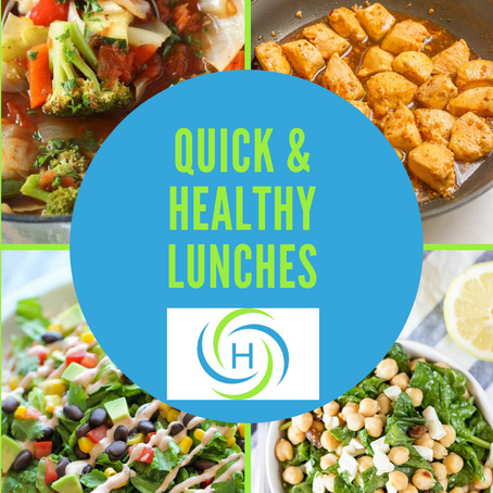 How To Make Quick And Healthy Lunches