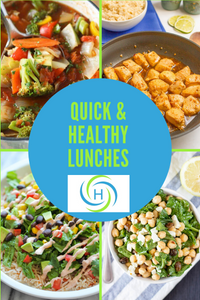 quick and healthy lunches that support a healthy body and mind