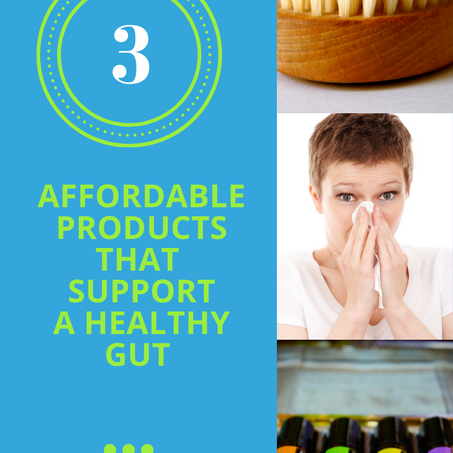 3 Surprisingly Affordable Products That Support A Healthy Gut