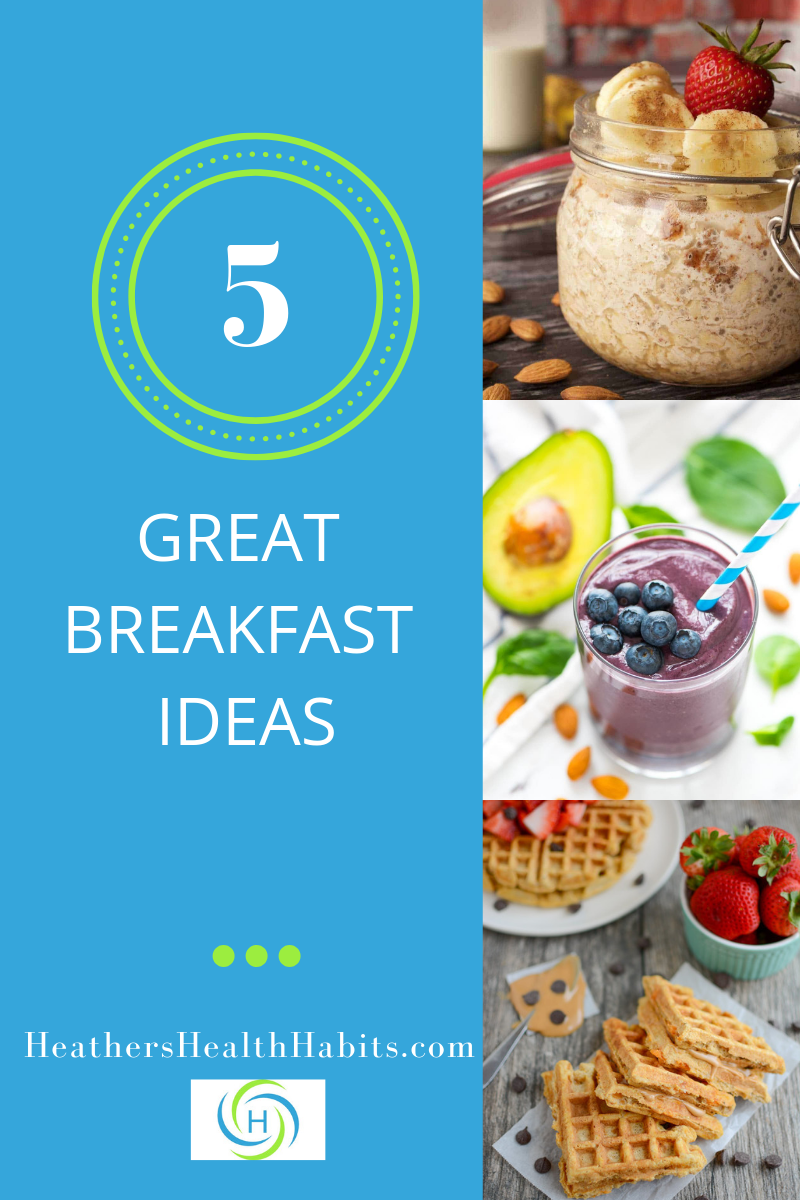 5 great breakfast recipes including overnight oats, smoothies and waffles