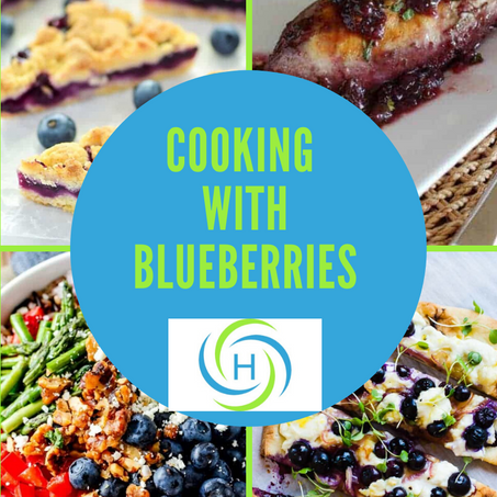 Fresh On The Mind: Cooking With Blueberries