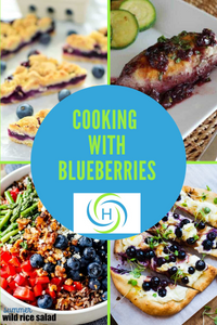 cooking with blueberries is easy and provides so many health benefits