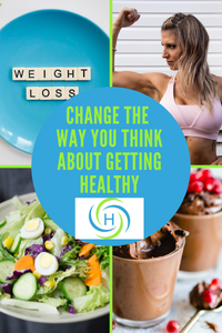 getting healthy does not mean you focus on losing weight or strenuous exercise or giving up indulgences