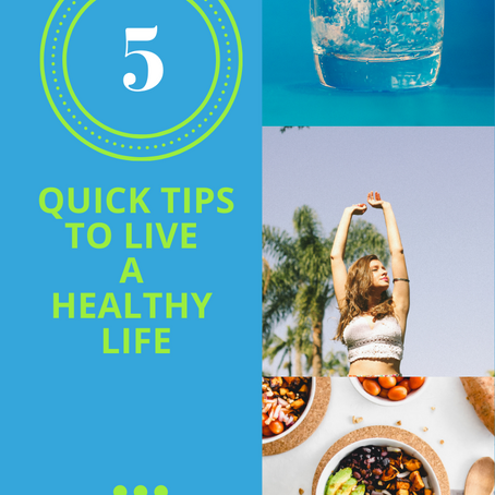 5 Quick Tips About How To Live A Healthy Life