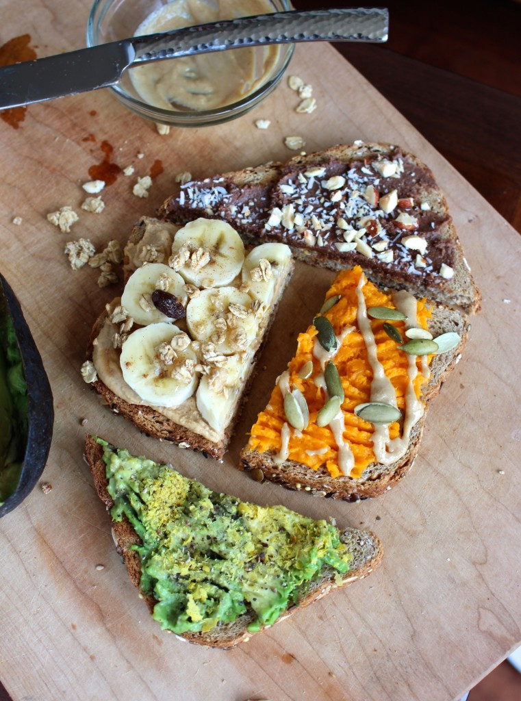 toast ideas for breakfast