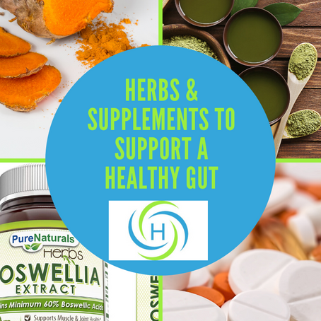 This Is How Herbs and Supplements Promote A Healthy Gut