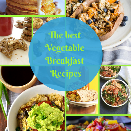 These are the best vegetable recipes to eat for breakfast